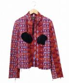 COMME des GARCONS(コムデギャルソン)の古着「デザイン刺繍ステッチレースジャケット」