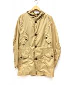 NINE THREE QUARTER(ナインスリークウォーター)の古着「パッカブルコート」|ベージュ
