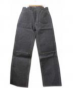 CUSHMAN(クッシュマン)の古着「40sダブルニーペインテーパンツ」|インディゴ