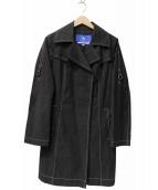BURBERRY BLUE LABEL(バーバリーブルーレーベル)の古着「シングルトレンチコート」|ブラック