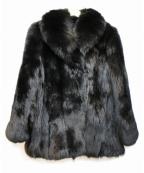SAGA FOX(サガフォックス)の古着「ファーコート」|ブラック