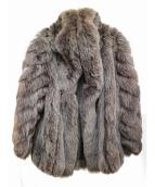 SAGA FOX(サガフォックス)の古着「ファーコート」|グレー