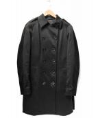 HERNO(ヘルノ)の古着「ダウンライナーボンディングトレンチコート」|ブラック