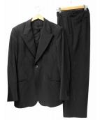 EMPORIO ARMANI(エンポリオアルマーニ)の古着「セットアップスーツ」 ブラック
