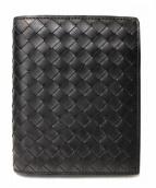 BOTTEGA VENETA(ボッテガベネタ)の古着「2つ折り財布」|ブラック