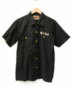 WEIRDO(ウィアード)の古着「バックデザイン刺繍シャツ」|ブラック