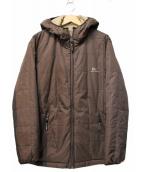 HELLY HANSEN(ヘリーハンセン)の古着「リバーシブル中綿ジャケット」|ブラウン