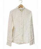 R&D.M.Co-OLDMANS TAILOR(アールアンドディー エム コー オールドマンズテーラー)の古着「アンティークリネンシャツ」|ホワイト