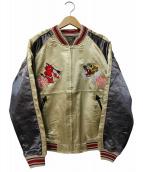 TED COMPANY(テッドカンパニー)の古着「シングルスカジャン」 ゴールド