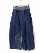 KAPITAL(キャピタル)の古着「マカナイパンツ」|インディゴ