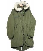 VINTAGE(ヴィンテージ)の古着「M-65モッズコート」|カーキ