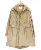 BEAMS BOY(ビームスボーイ)の古着「モッズコート」|ベージュ