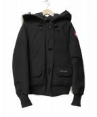 CANADA GOOSE(カナダグース)の古着「チリワックボンバーダウンジャケット」|ブラック