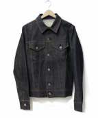 FACTOTUM(ファクトタム)の古着「ストレッチリジットデニムジャケット」|インディゴ
