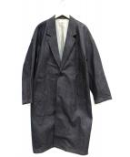 FACTOTUM(ファクトタム)の古着「オーバーサイズデニムコート」|インディゴ