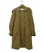 ESCADA(エスカーダ)の古着「オーバーシルエットトレンチコート」 ベージュ