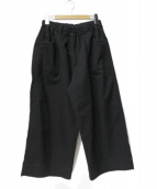 BASCO(バスコ)の古着「ワイドパンツ」 ブラック