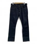 KURO(クロ)の古着「セルビッチデニムパンツ」|インディゴ