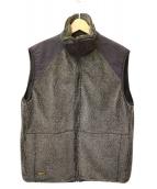 orSlow(オアスロウ)の古着「ボアフリースベスト」 グレー