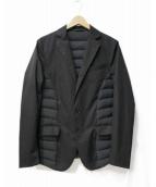 TATRAS(タトラス)の古着「ダウン切替テーラードジャケット」|ブラック