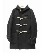 08sircus(08サーカス)の古着「ロングダッフルコート」 ブラック