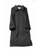 粟野商事 × fennica(アワノショウジ×フェニカ)の古着「別注角袖コート」|グレー