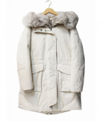WOOLRICH()の古着「MILITARY PARKA」 ホワイト