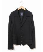 LIMI feu(リミフゥ)の古着「カッティングジャケット」|ネイビー