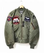 TED COMPANY(テッドカンパニー)の古着「L-2Bジャケット」|オリーブ