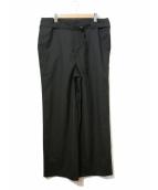 Elephant Blanc(エレファンブラン)の古着「ワイドスラックス」|ブラック
