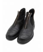 COMME des GARCONS HommePlus(コムデギャルソンオムプリュス)の古着「ジップサイドゴアブーツ」|ブラック
