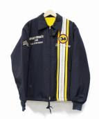 TED COMPANY(テッドカンパニー)の古着「裏ボアレーシングジャケット」|ネイビー