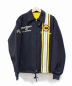 TED COMPANY(テッドカンパニー)の古着「裏ボアレーシングジャケット」 ネイビー