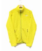 ()の古着「バーサライトベントジャケット」|イエロー