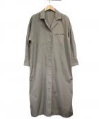23区()の古着「オープンカラーシャツワンピース」|オリーブ