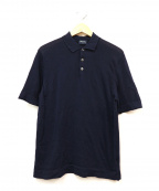 Drumohr()の古着「ポロシャツ」 ネイビー