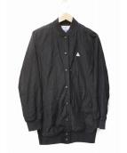 CAPE HEIGHTS(ケープハイツ)の古着「ロングブルゾン」|ブラック