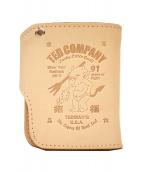 TED COMPANY(テッドカンパニー)の古着「2つ折り財布」|ベージュ