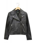 BLENHEIM(ブレンヘイム)の古着「ダブルライダースジャケット」|ブラック