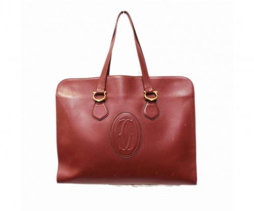 Cartier(カルティエ)Cartier (カルティエ) バッグ ボルドー [OLD]マストラインの古着・服飾アイテム