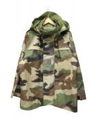 FRENCH ARMY(フレンチアーミー)の古着「ゴアテックスマウンテンジャケット」|オリーブ