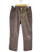 Deuxieme Classe(ドゥーズィエムクラス)の古着「サマーコールパンツ」|ブラウン