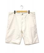 CARHARTT WIP(カーハート)の古着「ハーフパンツ」|ホワイト