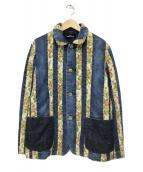 tricot COMME des GARCONS(トリコ コムデギャルソン)の古着「切替デニムジャケット」|インディゴ