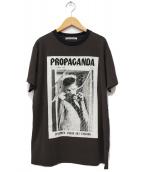 ACNE STUDIOS(アクネステュディオズ)の古着「マガジンプリントTシャツ」|ブラウン