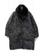 SONIA RYKIEL(ソニアリキエル)の古着「リバーシブルダウンコート」|ブラック
