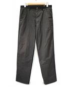 COMME des GARCONS SHIRT(コムデギャルソンシャツ)の古着「クレイジーパターンデザインスラックス」|ネイビー