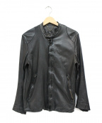 sisii(シシ)の古着「ライダースジャケット」|ブラック
