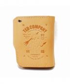 TED COMPANY(テッドカンパニー)の古着「2つ折り財布」 ベージュ