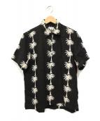 COMME des GARCONS(コムデギャルソン)の古着「ヤシノキシャツ」|ブラック